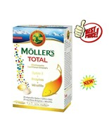 Moller's TOTAL Integrated Dietary Supplement 28caps Ω3 +28tabs Vitamins   - $26.95