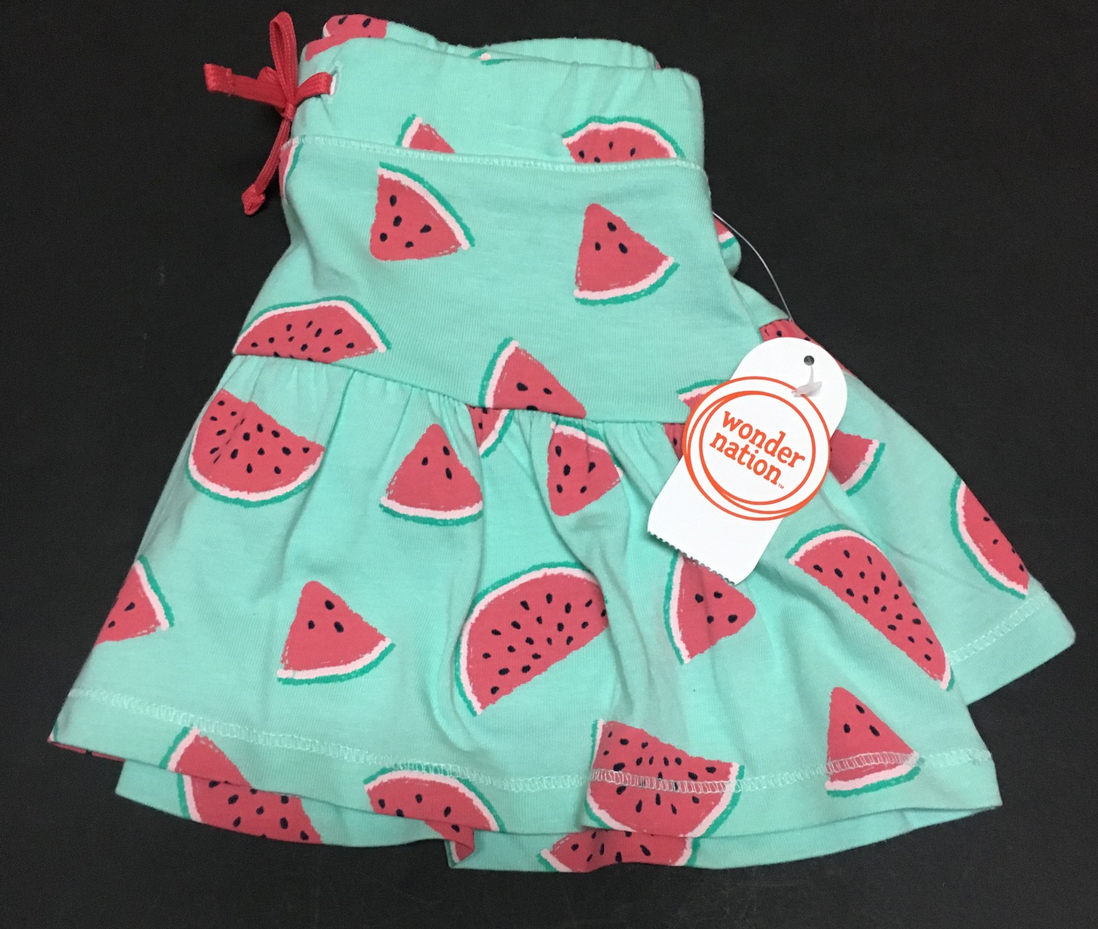 Wonder Nation Girl's Skirt Skorts Scooters NWT Watermelon Print Various Sizes