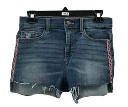SP Black Label Women's Blue Cotton Blend Cut-Off Jean Shorts Size 28 - $9.90