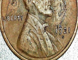 Lincoln Wheat Penny 1921 P, 1921 S, 1923 and 1923 S AA20-CNP2181 Antique