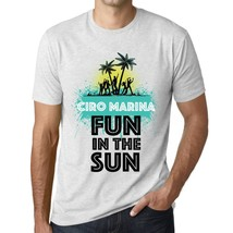 Men's Vintage Tee Shirt Graphic T shirt Summer Dance CIRO MARINA Vintage White - $15.95