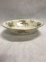 Vintage Theodore Haviland Apple Blossom Oval Vegetable Bowl 9.5 Inch China - $21.49