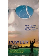 Powder VHS Mary Steenburgen Sean Patrick Flanery Jeff Goldblum - $1.99