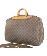 Authentic LOUIS VUITTON Alize Monogram Suitcase Travel Bag Luggage #35585 - $495.00