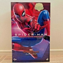 Hot Toys Exclusive Spider Man Far from Home Figure Movie Promo Version L... - $410.82