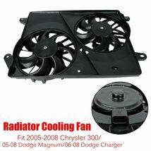 AC Radiator Cooling Fan Motor Fits Chrysler 300 Dodge Challenger Charger Magnum - $83.96