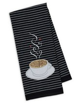 "Cup O Joe Embellished Kitchen Dish Towel New 18"" x 28"" DII 100% Cotton C... - $14.84"