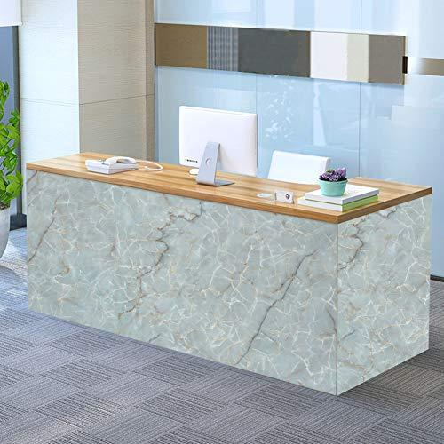 "17.7"" x 78.7"" Self-Adhesive Film,Marble Paper Decorative Kitchen Countertop Wate"