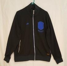 Nike Promo Sample CBF Brazil True Colors N98 Soccer Track Jacket BRASIL ... - $116.56
