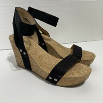 Lucky Brand Cork Wedge Sandals Size 8.5 - $19.99