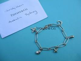 100% Genuine Tiffany & Co 5 charms bracelet (defect!) - Sterling silver - $210.80