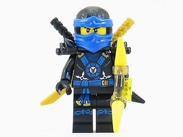 LEGO® Ninjago™ Deepstone Jay Blue Ninja Minifigure Yellow Aeroblade NEW ... - $8.90