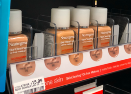 BUY1GET1 At 20% Off Neutrogena Skinclearing Oil Free Make Up Microclear (Expired) - $5.32+