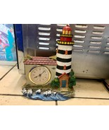 Beacon Lighthouse Battery Operated Quartz Clock - $15.83