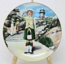 The Danbury Mint Shirley Temple Collector Plate Wee Willie Winkie w/COA - $24.26