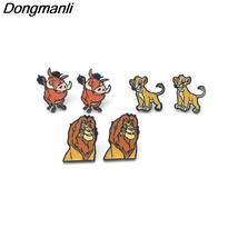 P3095 Wholesale 20pair/lot The Lion King Stainless Steel Pierce Ear Stud... - $94.99+