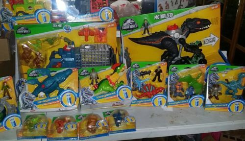 Imaginext Jurassic World Dinosaur Hauler Gift Set