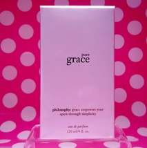 Philosophy Pure Grace Eau De Parfum Spray! 4oz Size! NEW-SEALED-BOXED! - $65.41