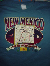 New Mexico Land Of Enchantment Size Large T-Shirt - $17.00