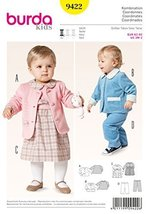 Burda Baby Coordinates Sewing Pattern 9422 - $12.74