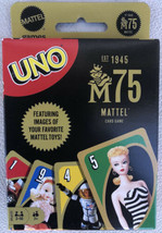 Mattel Games Uno: Mattel 75th Anniversary Card Game - Sealed New - $9.50