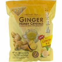 Prince Of Peace Lemon Ginger Honey Crystals Instant Beverage 30 Count - $27.72