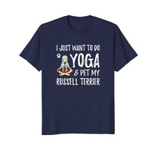 Yoga and Pet Jack Russell Terrier T-Shirt for Dog Mom - $17.99+