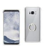 Reiko Samsung Galaxy S8 Transparent Air Cushion Protector Bumper Case Wi... - $9.80