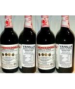 4 X La Vencedora Pure Mexican Vanilla Extract Glass Bottle 31oz Each Fro... - $79.00