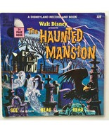 The Haunted Mansion 7' Vinyl Record / 24 Page Book, Disneyland - 339, 1976 - £31.26 GBP