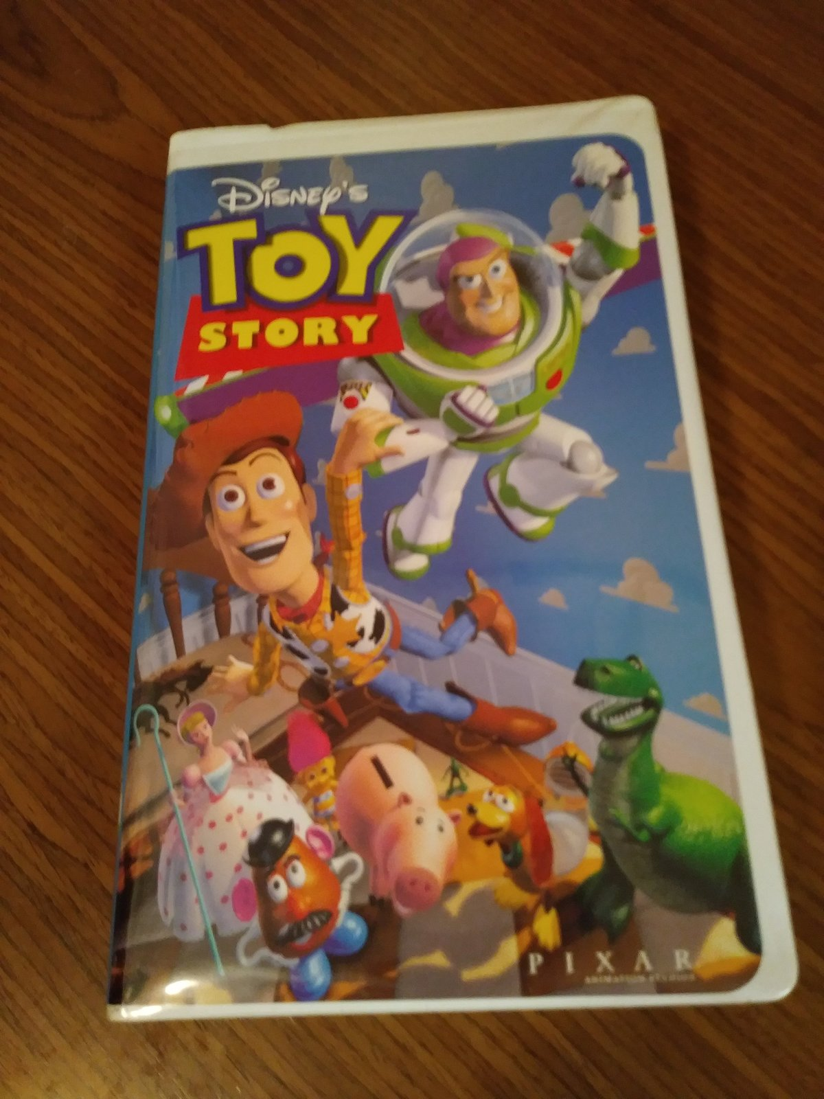 "Disney's ""Toy Story 1995"" Walt Disney Pixar VHS Video"
