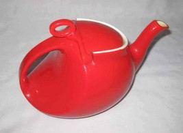 Cute Vintage Hall Red Teapot Tea Pot As Is - $9.74