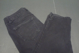 d. Jeans Womens Capri Jeans Sz 4 Cotton Black - $15.79