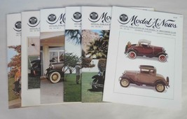 Ford Model A Restorers Club Magazine 1972 Lot of 6 Issues - $11.65