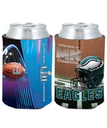 NFL Philadelphia Eagles Super Bowl LII 52 Champions Full Color Can Caddy - $11.95