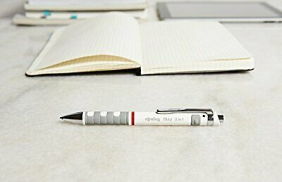 rOtring Tikky 3in1 Mechanical Pencil Ballpoint Highlighting Pen Black Red 0.5mm