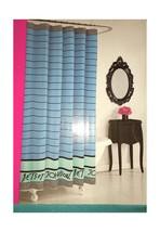Betsey Johnson Pirate Stripe Microfiber Shower Curtain - $47.36 CAD