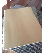 "MOLESKINE 1 New Moleskine Brown Cahier Journal Ruled Notebook Large 7x9""... - $9.92"