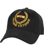 Black Vietnam Veteran Supreme Insignia Adjustable Cap - $9.99