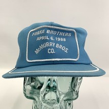 Vtg Snap Back Patch Front K Brand Truckers Hat Cap Mcmurry Forke Brother... - $23.70