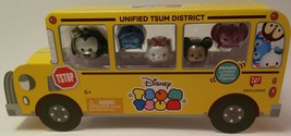Disney Tsum Tsum Metallic Figure School Bus *Walgreens Exclusive* Brand New - $19.75