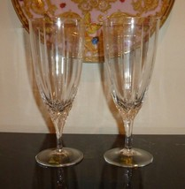 "2 Waterford Marquis Arcadia Iced Tea Goblets 8"" - $44.00"