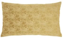 Golden Distressed Gradient Lumbar Pillow - $38.70