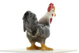 Hagen Renaker Miniature Chicken Leghorn Rooster Black Ceramic Figurine image 7