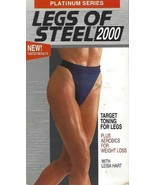 brand new factory sealed VHS: LEGS OF STEEL 2000 WITH LEISA HART - $8.90