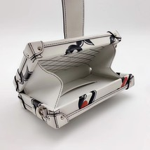 100% AUTH LOUISE VUITTON PETITE MALLE EPI WHITE CHAIN BAG LEATHER image 8