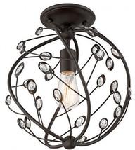 Quoizel Sedona 12.125-in W Bronze Flush Mount Light - $185.40