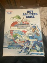 1977 Yankee Stadium All Star Game Program EX-NM cond. - $13.00