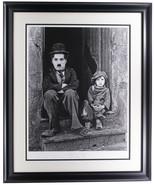 Charlie Chaplin The Kid Framed 16.5x22 Historical Photo Archive Giclee - $352.43