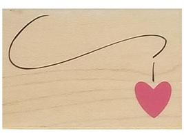 Hero Arts-Love Chain-Wood mounted  Rubber Stamp-  #C4600